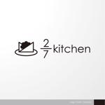 sa_akutsuさんのサンドウィッチショップ「2/7kitchen(ななぶんのにきっちん)」のロゴへの提案