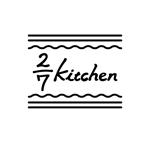 55nontanさんのサンドウィッチショップ「2/7kitchen(ななぶんのにきっちん)」のロゴへの提案