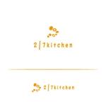 tom-hoさんのサンドウィッチショップ「2/7kitchen(ななぶんのにきっちん)」のロゴへの提案