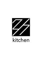 lemon8dさんのサンドウィッチショップ「2/7kitchen(ななぶんのにきっちん)」のロゴへの提案