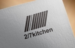 FISHERMANさんのサンドウィッチショップ「2/7kitchen(ななぶんのにきっちん)」のロゴへの提案