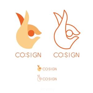 ALPHATHINKさんのコワーキングスペース「CO:SIGN」のロゴへの提案