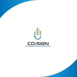 red3841さんのコワーキングスペース「CO:SIGN」のロゴへの提案