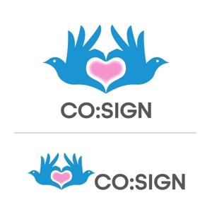 UxieTaylorさんのコワーキングスペース「CO:SIGN」のロゴへの提案