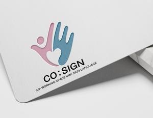 Silver_Designさんのコワーキングスペース「CO:SIGN」のロゴへの提案