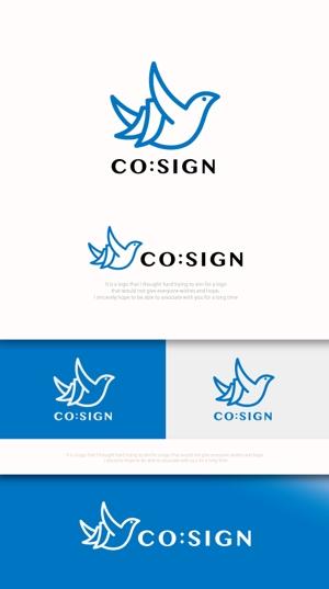 mahou-photさんのコワーキングスペース「CO:SIGN」のロゴへの提案