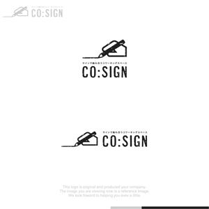 Puchi2さんのコワーキングスペース「CO:SIGN」のロゴへの提案