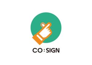 tora_09さんのコワーキングスペース「CO:SIGN」のロゴへの提案