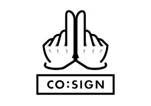 plumflavorさんのコワーキングスペース「CO:SIGN」のロゴへの提案