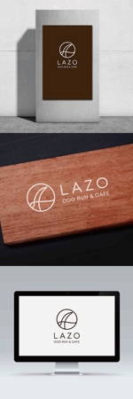 新規開業するドッグラン併設ドッグカフェ「LAZO」のロゴを募集しますへの提案