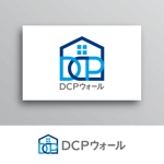 White-designさんの住宅塗り壁工法【DCPウォール】のロゴへの提案
