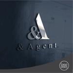 yottofuruyaさんの高級婚活サイト【&agent】のロゴへの提案
