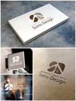 m_mtbooksさんの建築・インテリアデザイン会社 Sumu Designのロゴ作成依頼への提案