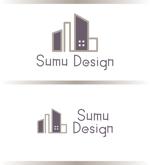 asrytextileさんの建築・インテリアデザイン会社 Sumu Designのロゴ作成依頼への提案