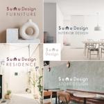tanakatakahisaさんの建築・インテリアデザイン会社 Sumu Designのロゴ作成依頼への提案