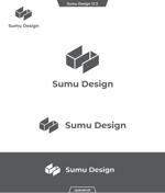 queuecatさんの建築・インテリアデザイン会社 Sumu Designのロゴ作成依頼への提案