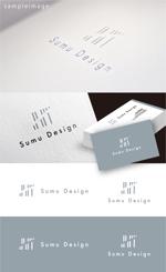 smoke-smokeさんの建築・インテリアデザイン会社 Sumu Designのロゴ作成依頼への提案