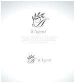 yamamoto19761029さんの高級婚活サイト【&agent】のロゴへの提案