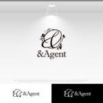 le_cheetahさんの高級婚活サイト【&agent】のロゴへの提案