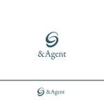 rgm_mさんの高級婚活サイト【&agent】のロゴへの提案