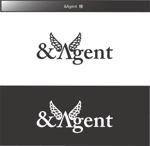 FISHERMANさんの高級婚活サイト【&agent】のロゴへの提案