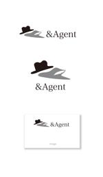 serve2000さんの高級婚活サイト【&agent】のロゴへの提案