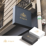 doremidesignさんの高級婚活サイト【&agent】のロゴへの提案