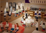 jaikoさんの新業態「MIXERBAR」店内イメージイラスト作成依頼への提案