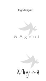 kanmaiさんの高級婚活サイト【&agent】のロゴへの提案