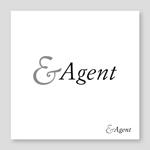 samasaさんの高級婚活サイト【&agent】のロゴへの提案