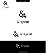queuecatさんの高級婚活サイト【&agent】のロゴへの提案
