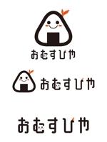 dd51さんのおむすびやの看板のキャラクターロゴへの提案
