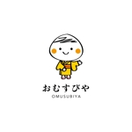 topa3029さんのおむすびやの看板のキャラクターロゴへの提案