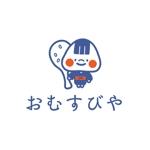 chamdaさんのおむすびやの看板のキャラクターロゴへの提案