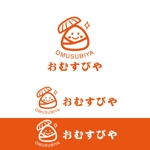rietoyouさんのおむすびやの看板のキャラクターロゴへの提案