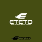momoshiさんのアウトドアブランド「ETETO」のロゴへの提案
