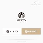 conii88さんのアウトドアブランド「ETETO」のロゴへの提案