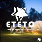tattsu0812さんのアウトドアブランド「ETETO」のロゴへの提案