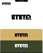 queuecatさんのアウトドアブランド「ETETO」のロゴへの提案