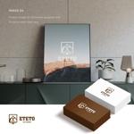 doremidesignさんのアウトドアブランド「ETETO」のロゴへの提案