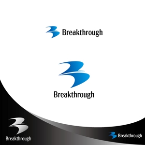 nashiniki161さんの運送会社Breakthroughの会社ロゴ作成のお願いへの提案
