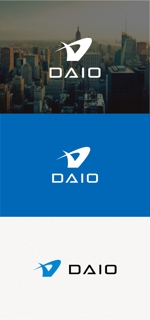tanaka10さんの建設会社DAIOのロゴへの提案