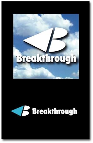 keishi0016さんの運送会社Breakthroughの会社ロゴ作成のお願いへの提案
