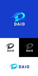 kidz44さんの建設会社DAIOのロゴへの提案
