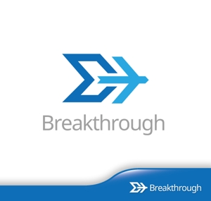 hiko-kzさんの運送会社Breakthroughの会社ロゴ作成のお願いへの提案