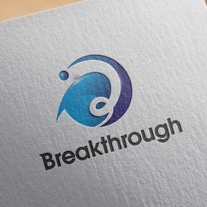 zasshedesignさんの運送会社Breakthroughの会社ロゴ作成のお願いへの提案