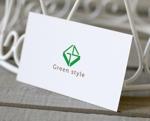 otandaさんのテレワークオフィス 「Green style」のロゴ制作への提案