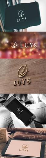 katsu31さんのヘアサロン 「LUYS」のロゴへの提案