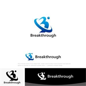 drkigawaさんの運送会社Breakthroughの会社ロゴ作成のお願いへの提案