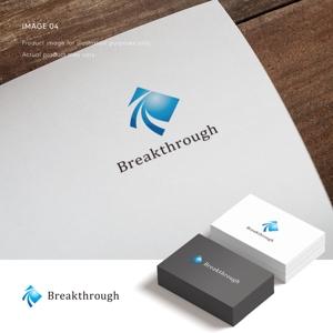 doremidesignさんの運送会社Breakthroughの会社ロゴ作成のお願いへの提案